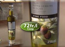 olio extravergine dopo cartoceto