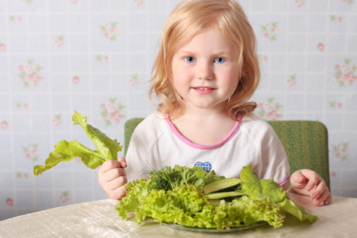 mense scolastiche bambini verdura