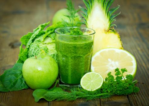 frutta verde frullato