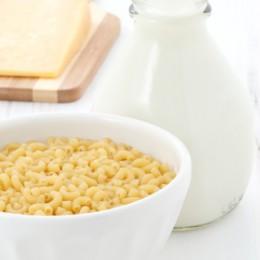 pasta latte formaggio