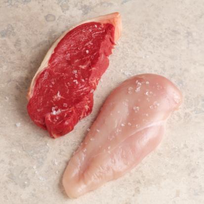 pellicola commestibile carne cruda carica batterica