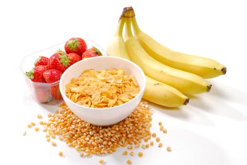 banane corn flakes fragole