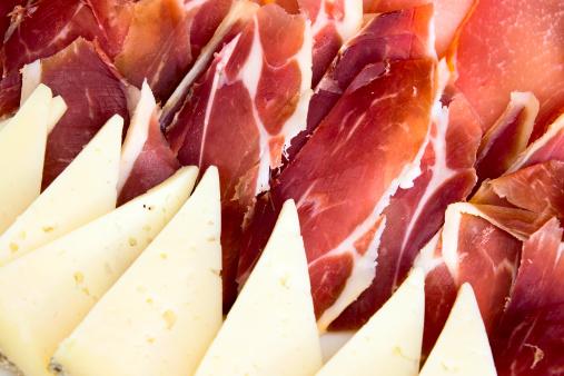 formaggio prosciutto crudo