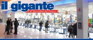 il gigante, supermercati
