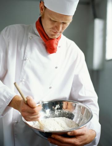 chef farina impasto