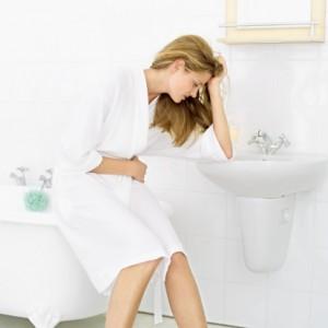 donna mal di pancia