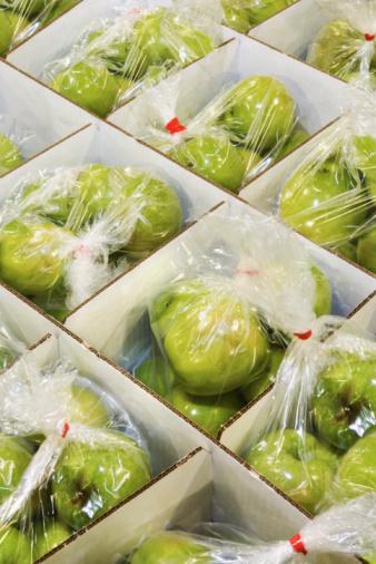 imballaggio mele