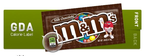 M&M's label