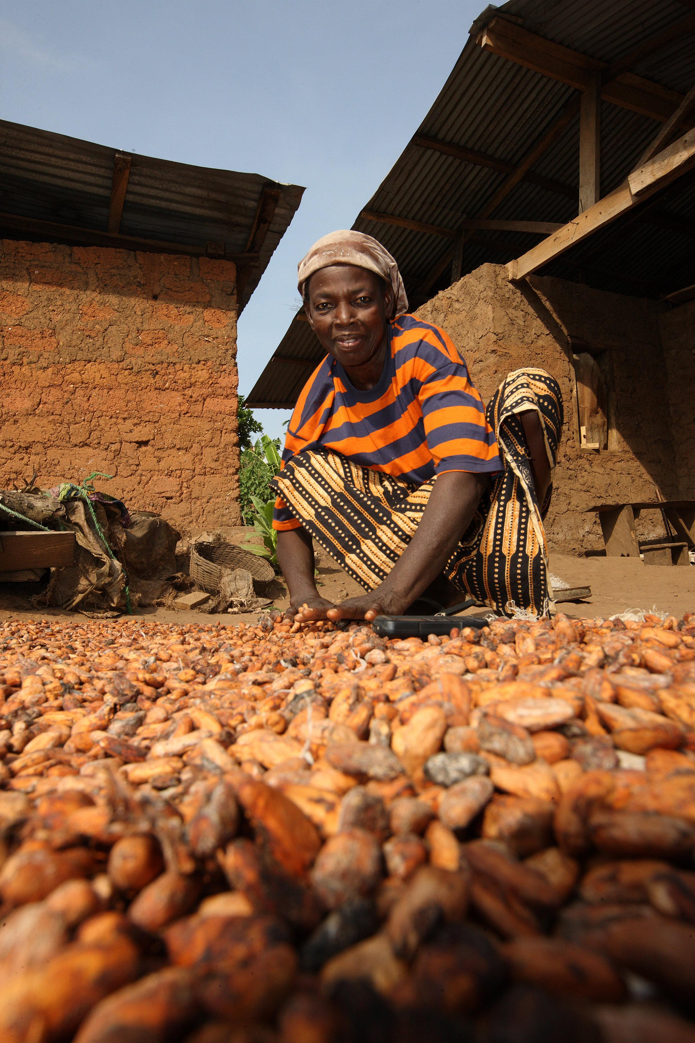 Oxfam donne e cacao Nigeria 3