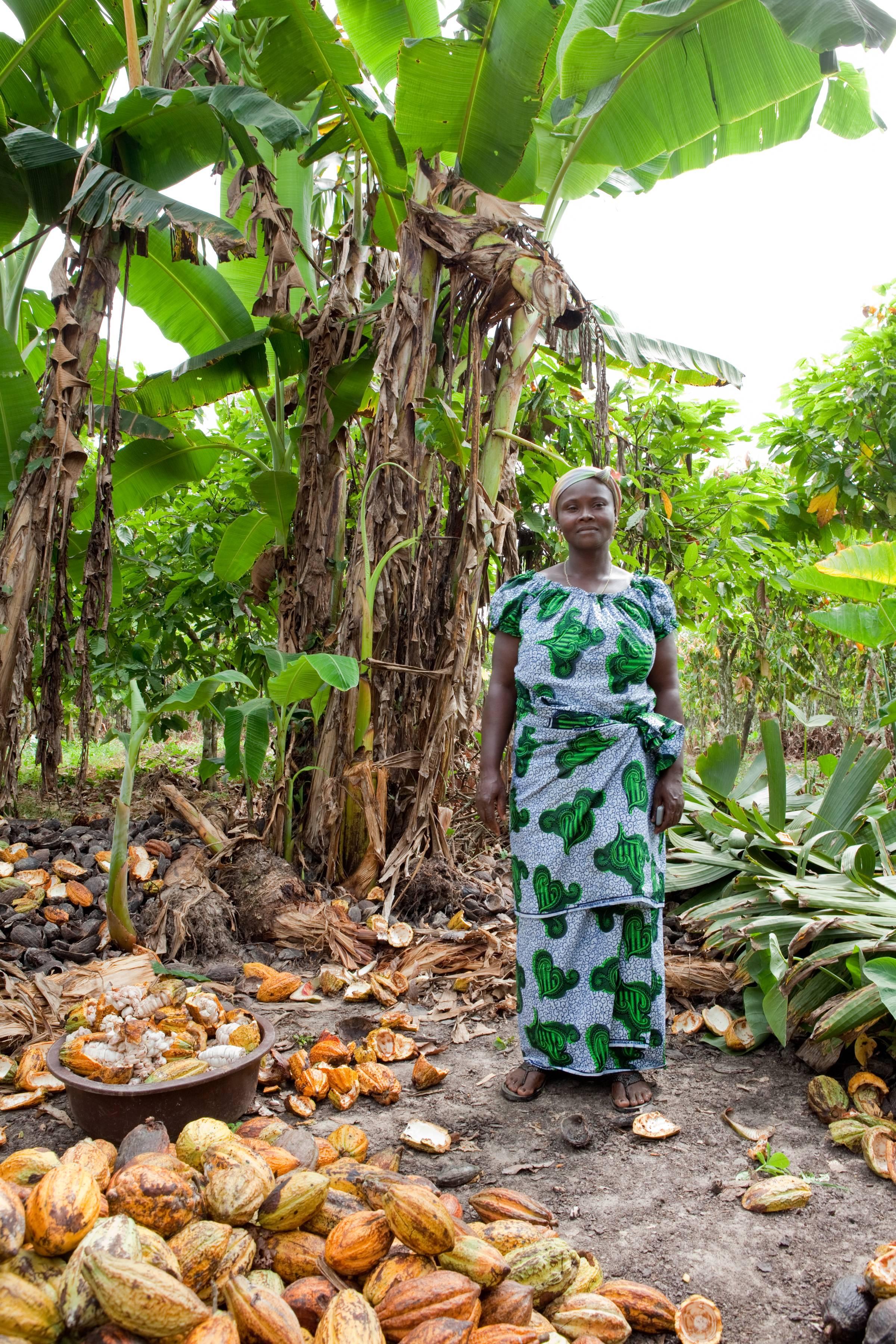Oxfam donne e cacao Costa d'Avorio 1