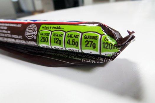 candybar etichetta verde