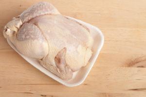 pollo crudo Campylobacter