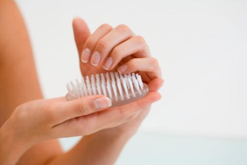 unghie spazzola