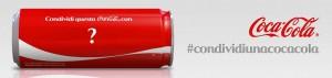 condividi coca cola