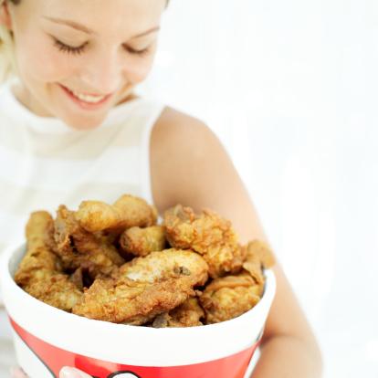 pollo donna trashfood
