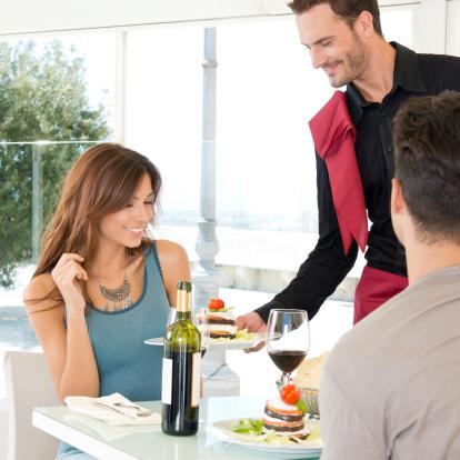 ristorante cameriere