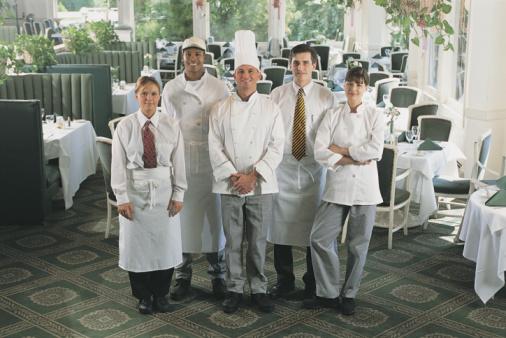 ristorante cameriere cuoco