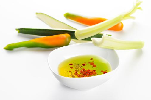 pinzimonio verdure olio