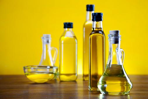 olio bottiglie