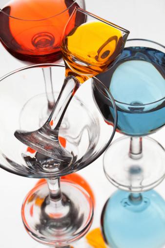 superalcolico liquore bicchieri