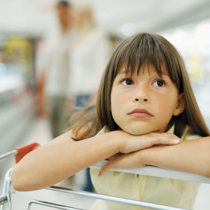 bambino supermercato