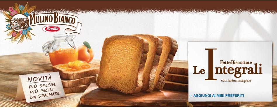 fette biscottate integrali barilla