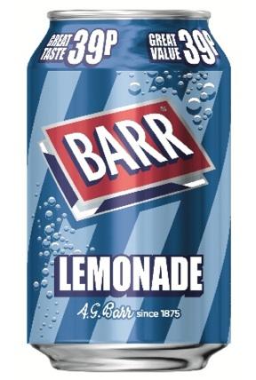 AG Barr lemonade