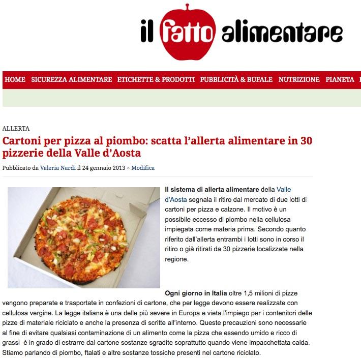 articolo cartoni pizza