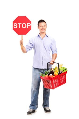 stop cibo allerta