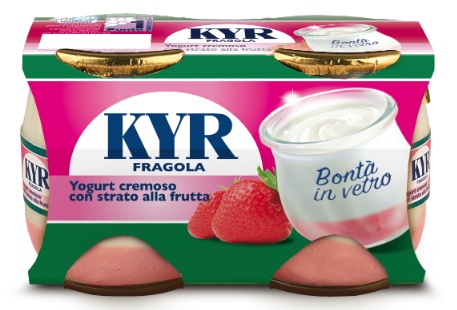 kyr yogurt fragola parmalat