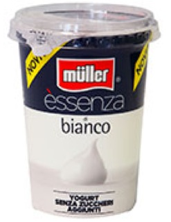 essenza yogurt muller bianco