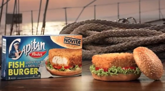 fish burger capitan findus barca