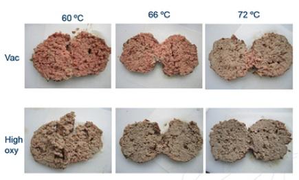 macinato temperatura atmosfera modificata