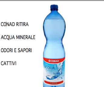 acqua conad