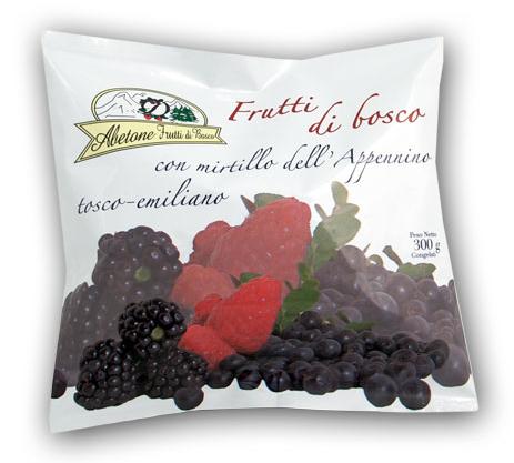 abetone frutti bosco danti 300g