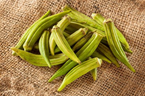 okra verdura asia 179481787