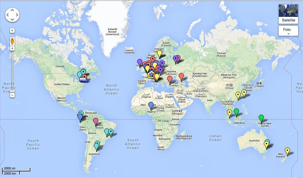 Mappa Nutella google 2
