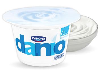danio danone bianco yogurt