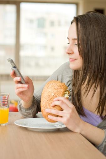 smartphone pranzo
