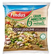 minestrone contadino Findus 6 minuti