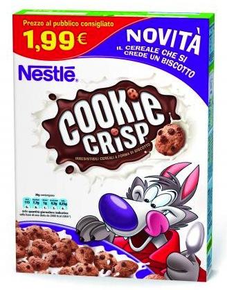 Cookie Crisp nestle colazione cereali