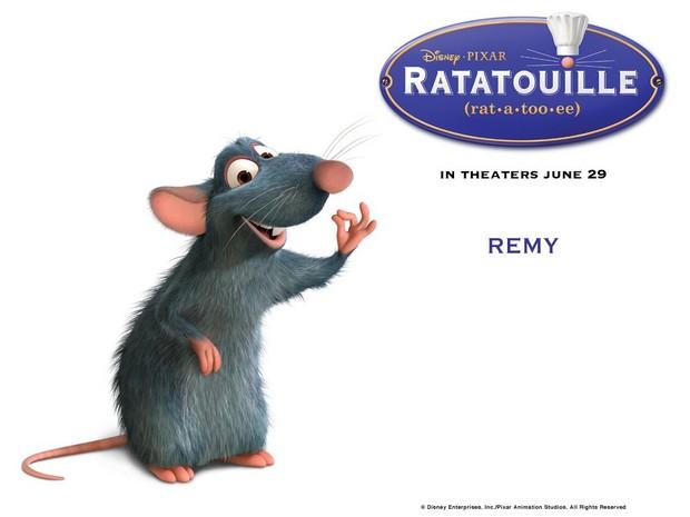 Ratatouille topo film