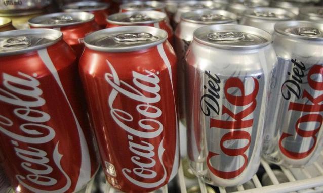 coca-cola caramello artificiale