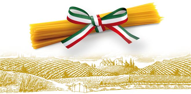 pasta gragranoro italia bandiera spaghetti