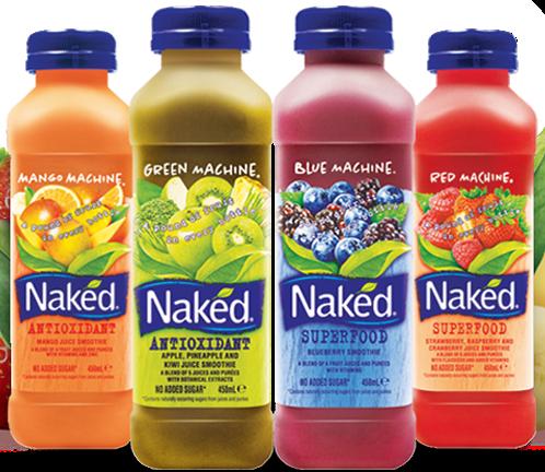 prodotto naturale naked succo pepsico