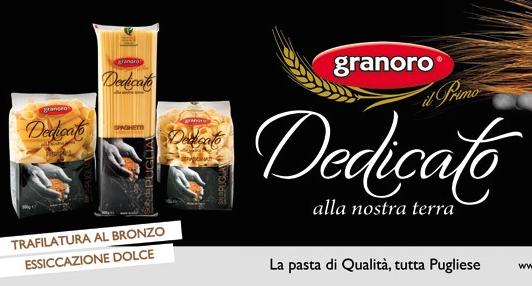 Pasta italiana granoro dedicato