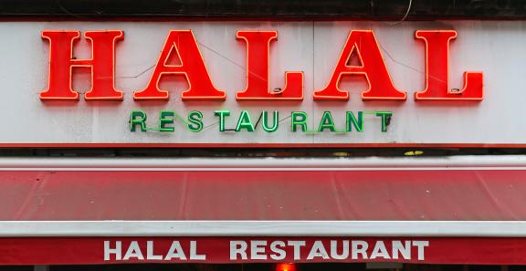 Halal carne macellazione islam457146801