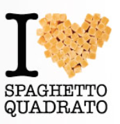 spaghetto quadrato i love