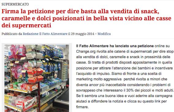 supermercati articolo casse