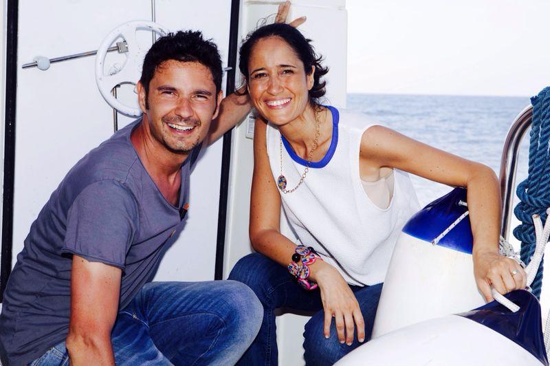 Tinto e Valentina Tepedino